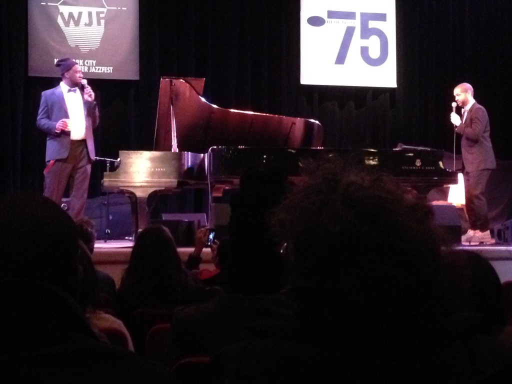 Robert Glasper and Jason Moran